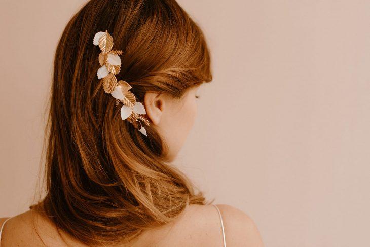 Maud Bonnard - Beauty Art Coiffure- Coiffure et maquillage de mariée - Lyon et Rhône Alpes - La chambre Blanche - Vanessa Madec